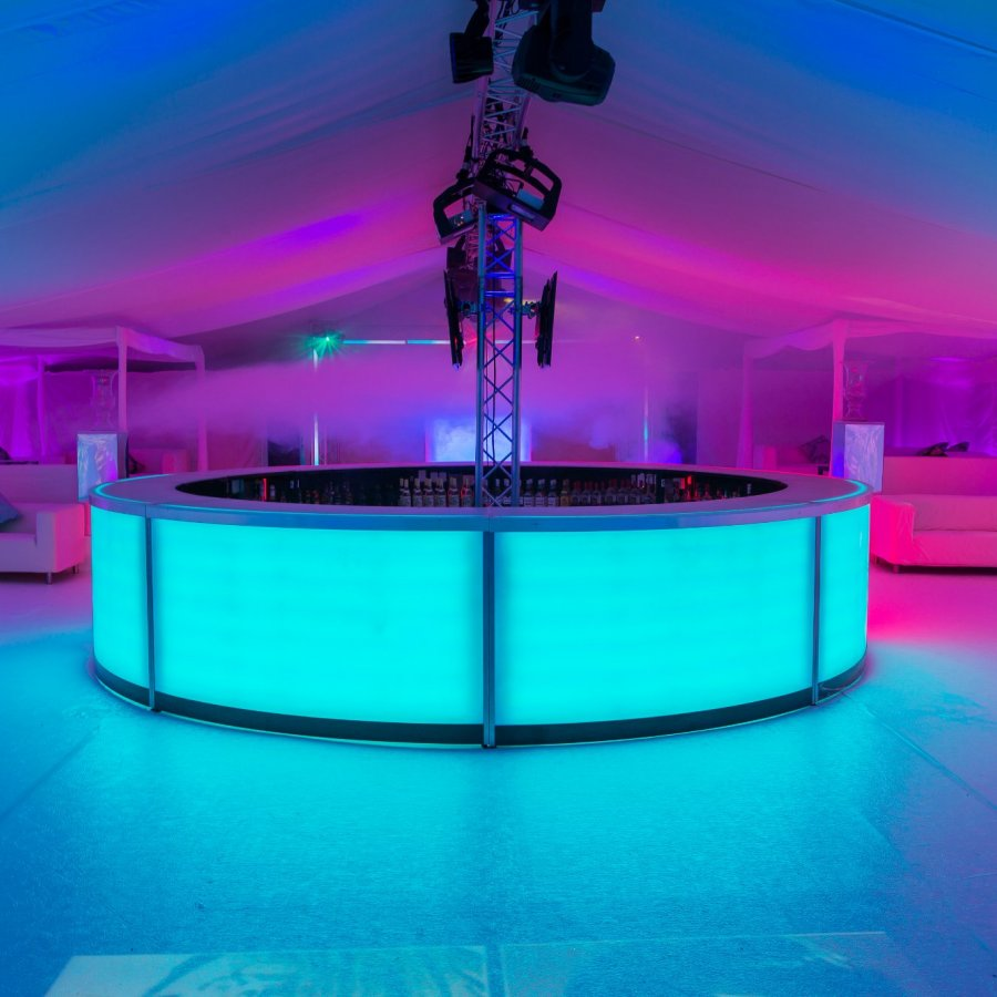 Circular Marquee Event Bar