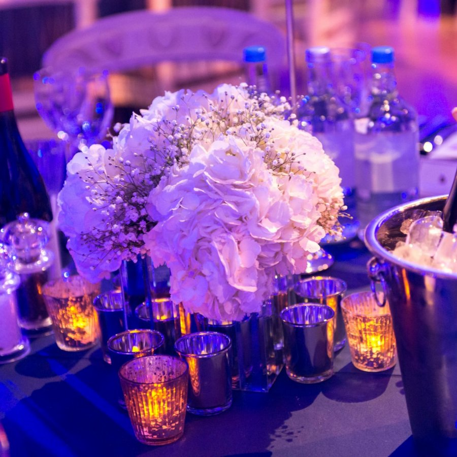 Table centerpieces - Party planner design