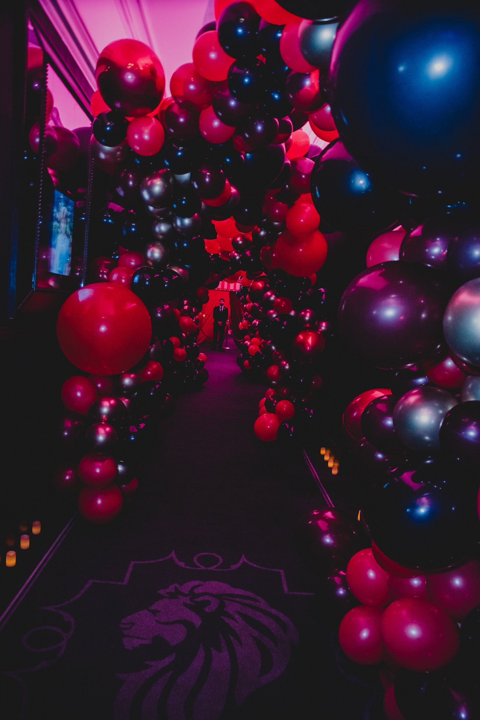 Balloon Entrance Tunnel