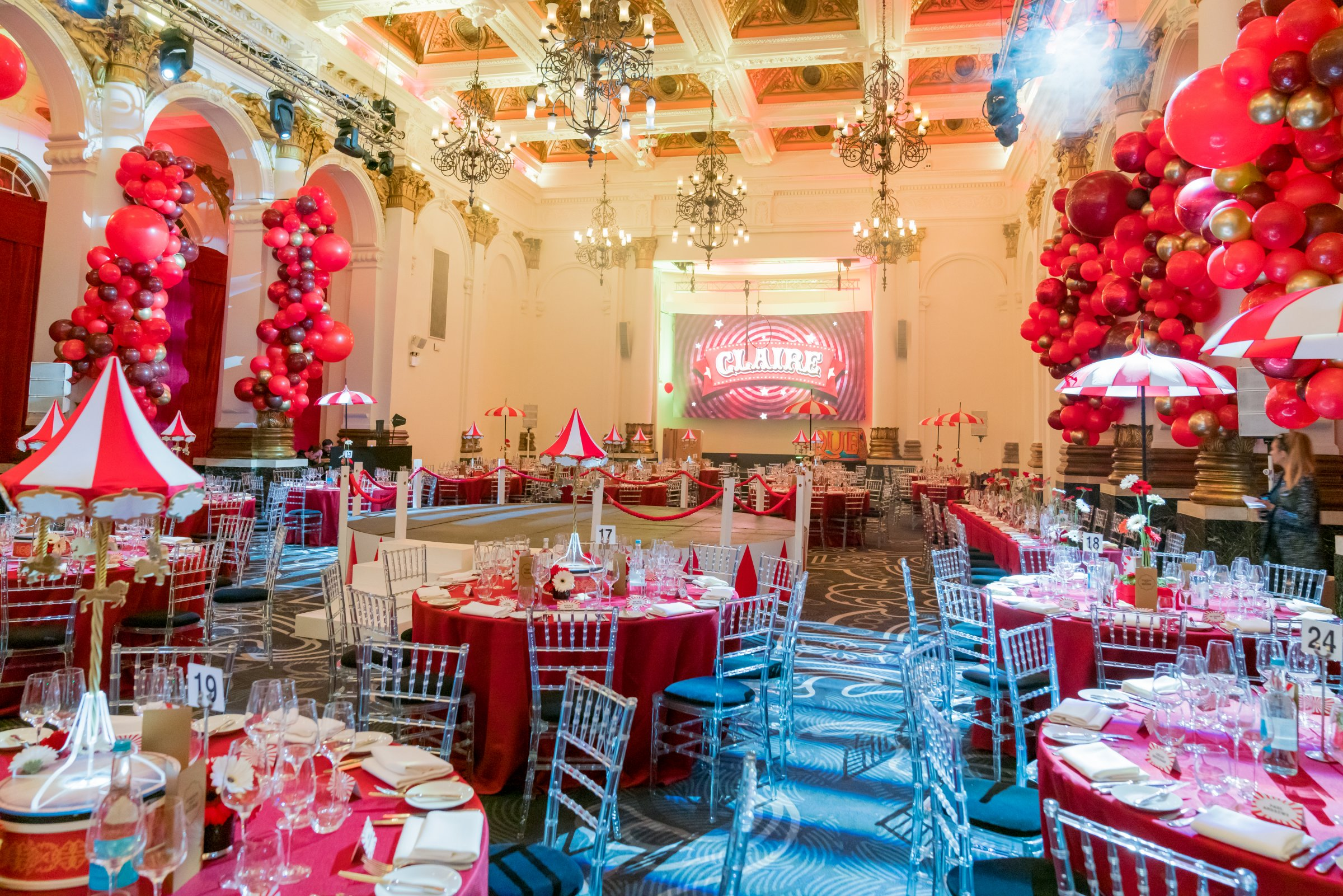 Circus Event Decor